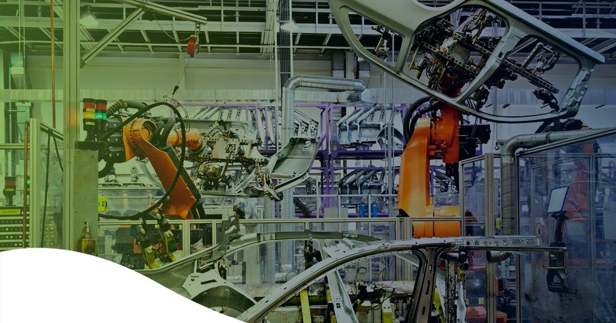 Linha de montagem da Audi, uma das montadoras mais inovadoras do mundo