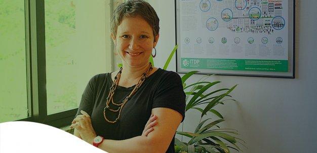 Clarissa Cunha Linke, diretora do ITDP, que fala sobre a mudança de personalidade no trânsito